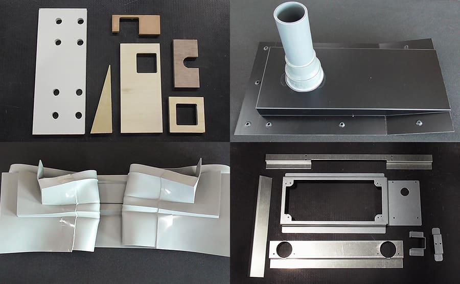 組立アッセンブリをメインとした、多種多様な加工イメージ
